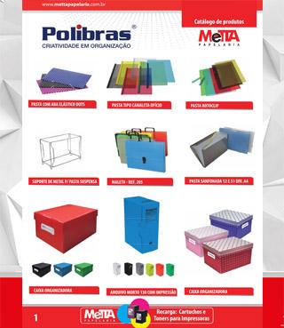Catálogo Metta Papelaria 2017